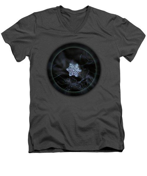 Real Snowflake - 2017-12-07 1 Men's V-Neck T-Shirt