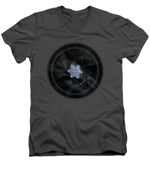 Real Snowflake - 2017-12-07 1 Men's V-Neck T-Shirt