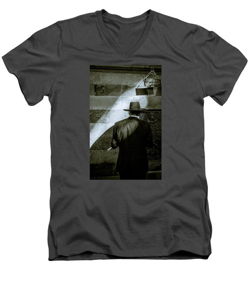 Rebecca Matriarch Enlightenment Men's V-Neck T-Shirt