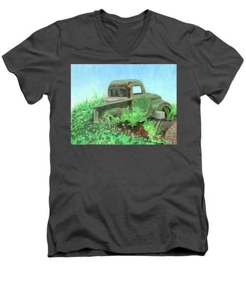 Reclaimed Men's V-Neck T-Shirt