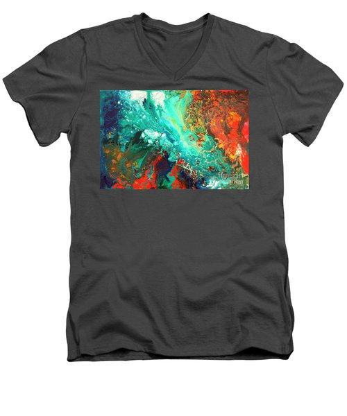 Reconnoitering The Rim Men's V-Neck T-Shirt