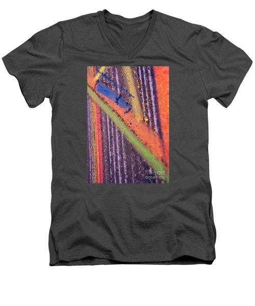 Record  Lp Men's V-Neck T-Shirt