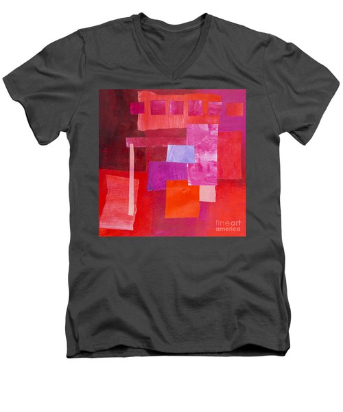 Red 2 Men's V-Neck T-Shirt