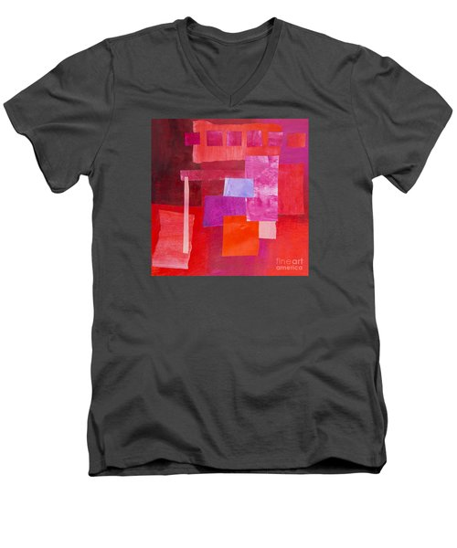 Red 2 Men's V-Neck T-Shirt