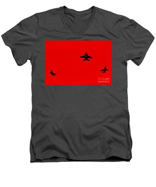 Red Alert Men's V-Neck T-Shirt