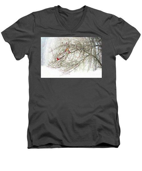Red Bird Convention Men's V-Neck T-Shirt