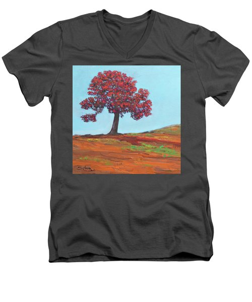 Red Dawn Men's V-Neck T-Shirt