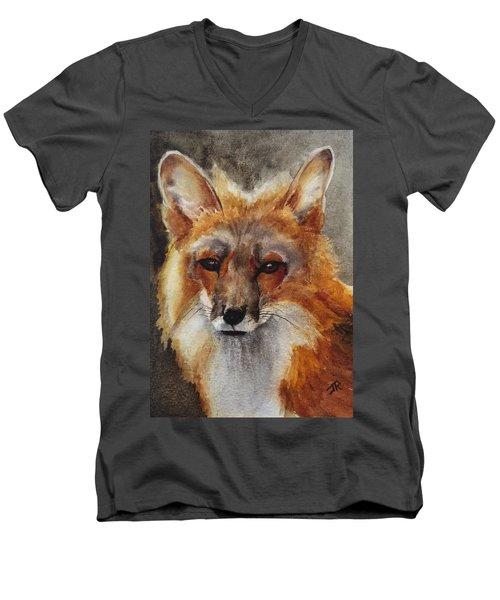 Red Fox Men's V-Neck T-Shirt