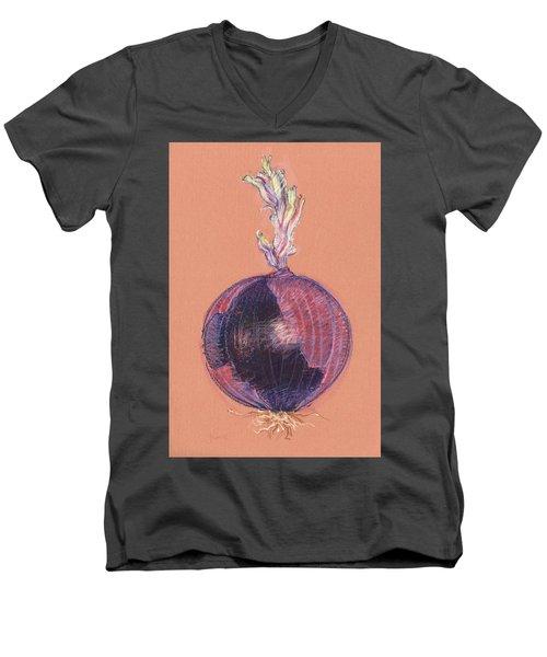 Red Onion Men's V-Neck T-Shirt