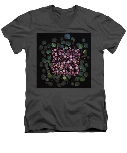 Red Pearl Onions Men's V-Neck T-Shirt