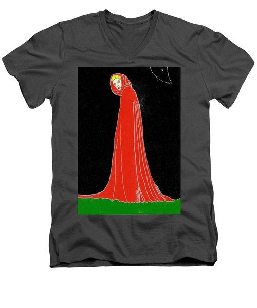 Red Riding Hood Men's V-Neck T-Shirt