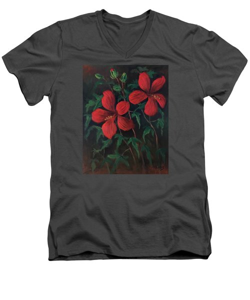 Red Soldiers Men's V-Neck T-Shirt