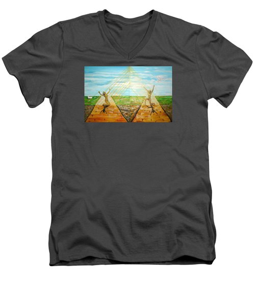 Redemption Men's V-Neck T-Shirt