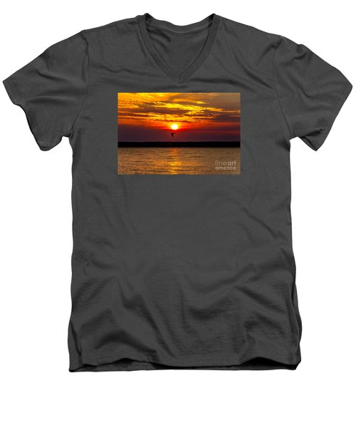 Redeye Flight Men's V-Neck T-Shirt