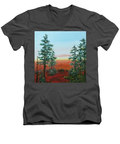 Redwood Overlook Men's V-Neck T-Shirt