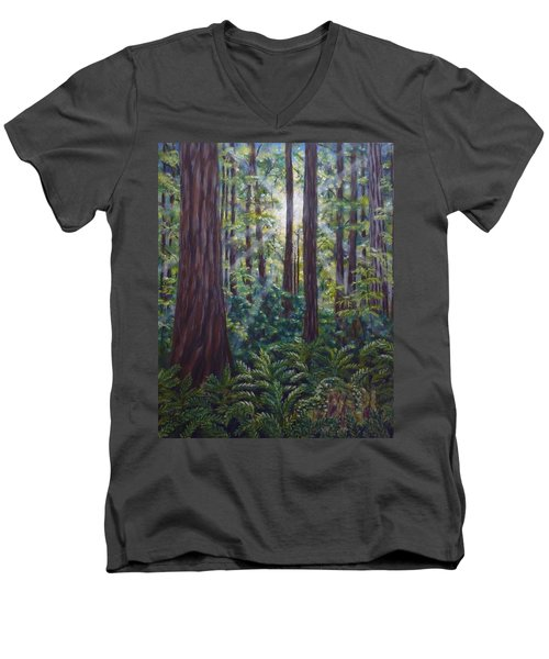 Redwoods Men's V-Neck T-Shirt