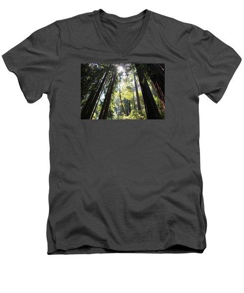 @redwoods Men's V-Neck T-Shirt