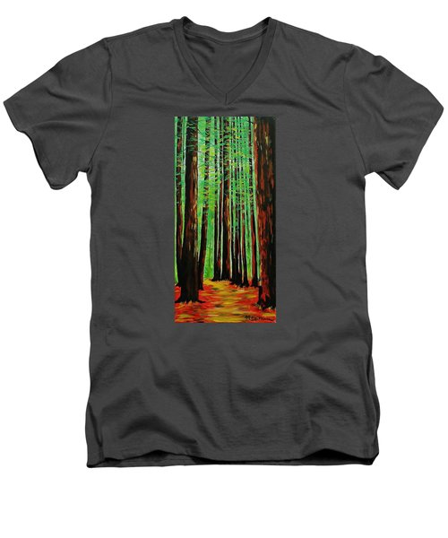 Redwoods Majestic 2 Men's V-Neck T-Shirt