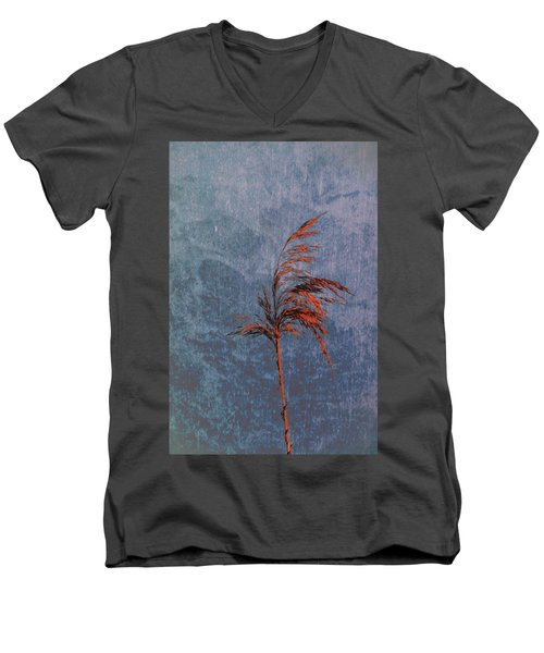 Reed #f9 Men's V-Neck T-Shirt by Leif Sohlman