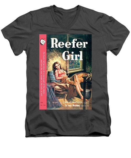 Reefer Gilr Men's V-Neck T-Shirt