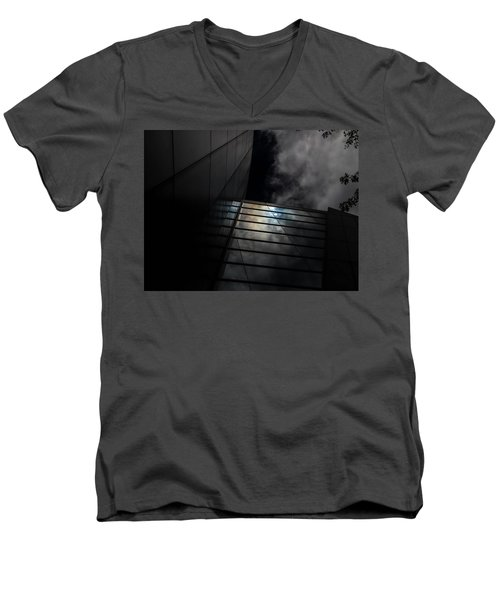 Reflected Clouds Men's V-Neck T-Shirt