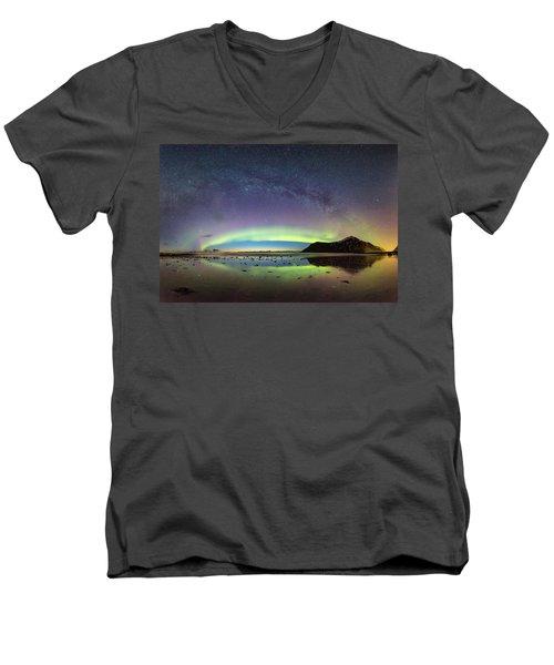Reflected Lights Men's V-Neck T-Shirt