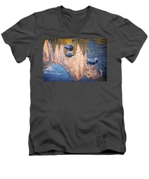 Reflected Majesty Men's V-Neck T-Shirt