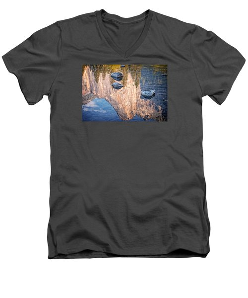 Reflected Majesty Men's V-Neck T-Shirt