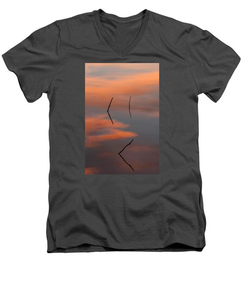 Reflected Sunrise Men's V-Neck T-Shirt