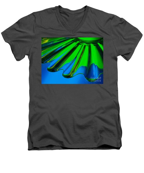 Reflected Men's V-Neck T-Shirt