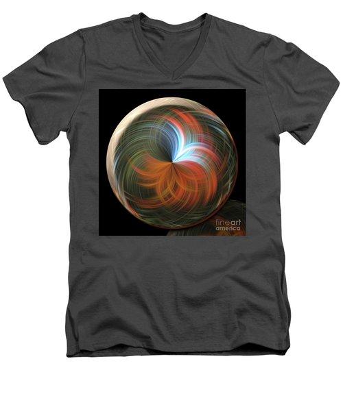 Reflecting Orb Men's V-Neck T-Shirt