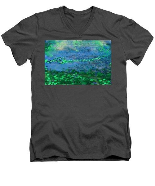 Reflecting Pond Men's V-Neck T-Shirt