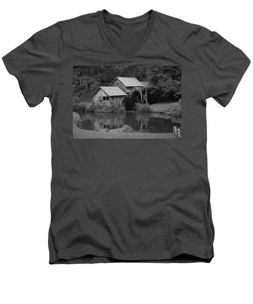 Reflecting The Mill Men's V-Neck T-Shirt