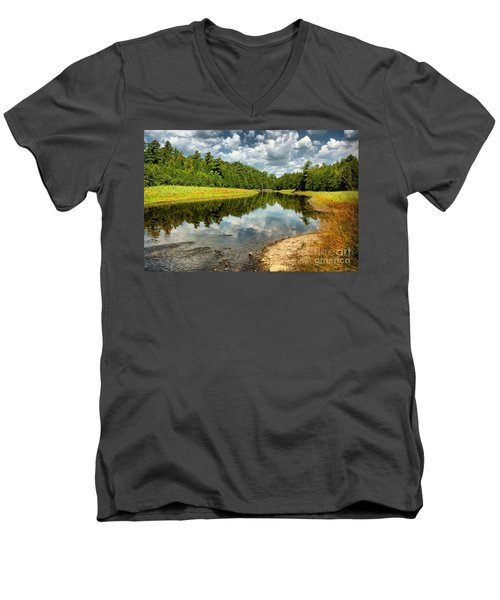Reflection Of Nature Men's V-Neck T-Shirt
