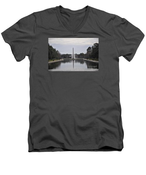 Reflection Pool Men's V-Neck T-Shirt