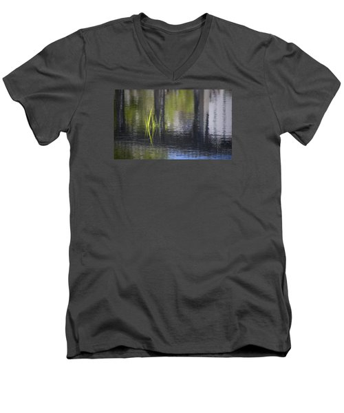 Reflections Accents Men's V-Neck T-Shirt by Morris  McClung