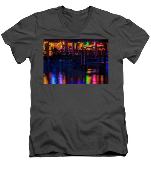 Reflections From Riverview Grill Men's V-Neck T-Shirt