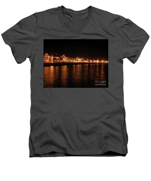 Reflections In The Bay Men's V-Neck T-Shirt