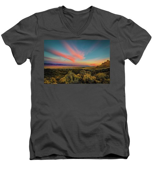 Reflections Of A Sunset Unseen Men's V-Neck T-Shirt