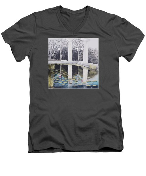 Reflections Of Days Of Future Past Men's V-Neck T-Shirt