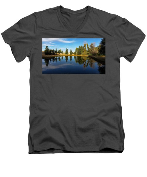 Reflections Of Life Men's V-Neck T-Shirt