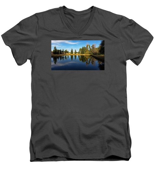 Reflections Of Life Men's V-Neck T-Shirt