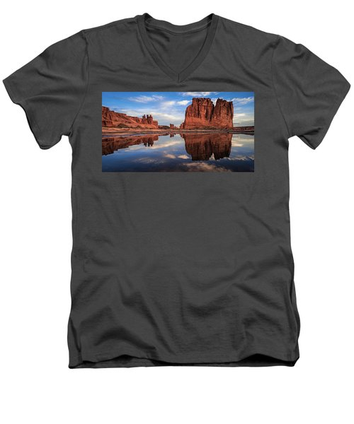 Reflections Of Organ Men's V-Neck T-Shirt