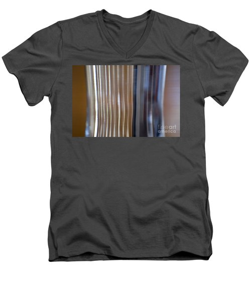 Refraction In Glass Men's V-Neck T-Shirt