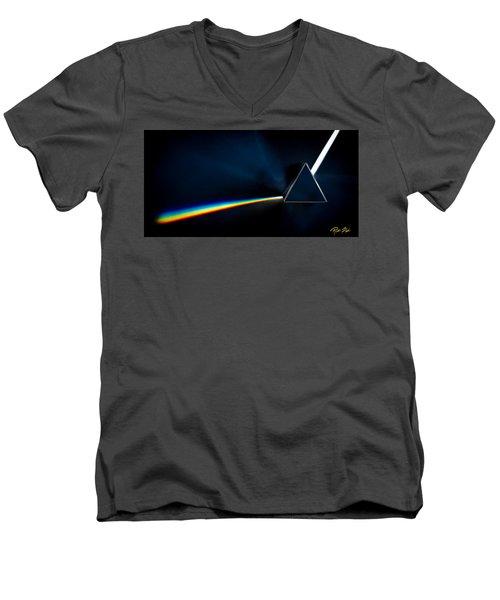 Refraction  Men's V-Neck T-Shirt