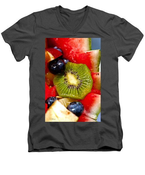 Refreshing Men's V-Neck T-Shirt