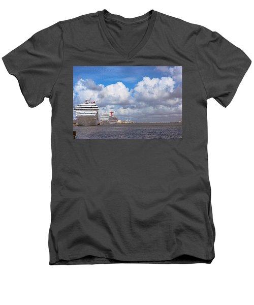 Refuling Men's V-Neck T-Shirt