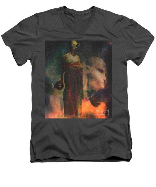 Reincarnation Men's V-Neck T-Shirt