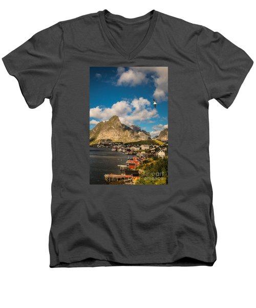 Reine In The Sun Men's V-Neck T-Shirt