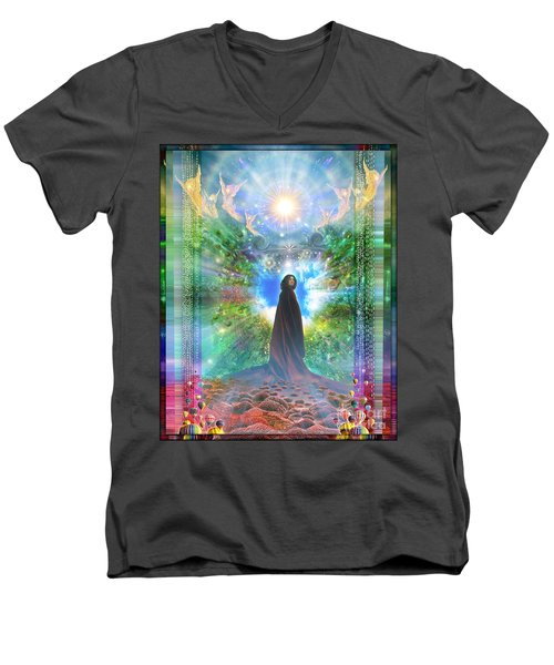 Rejoice-thy-young Men's V-Neck T-Shirt